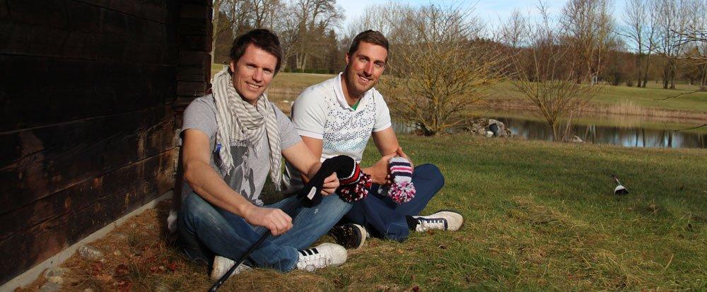 Matthias Schneider (links) und Oliver Volkmuth (rechts)