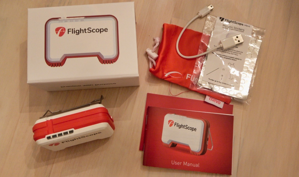 mevo lieferumfang - FlightScope Mevo – Mini Launch-Monitor im Test