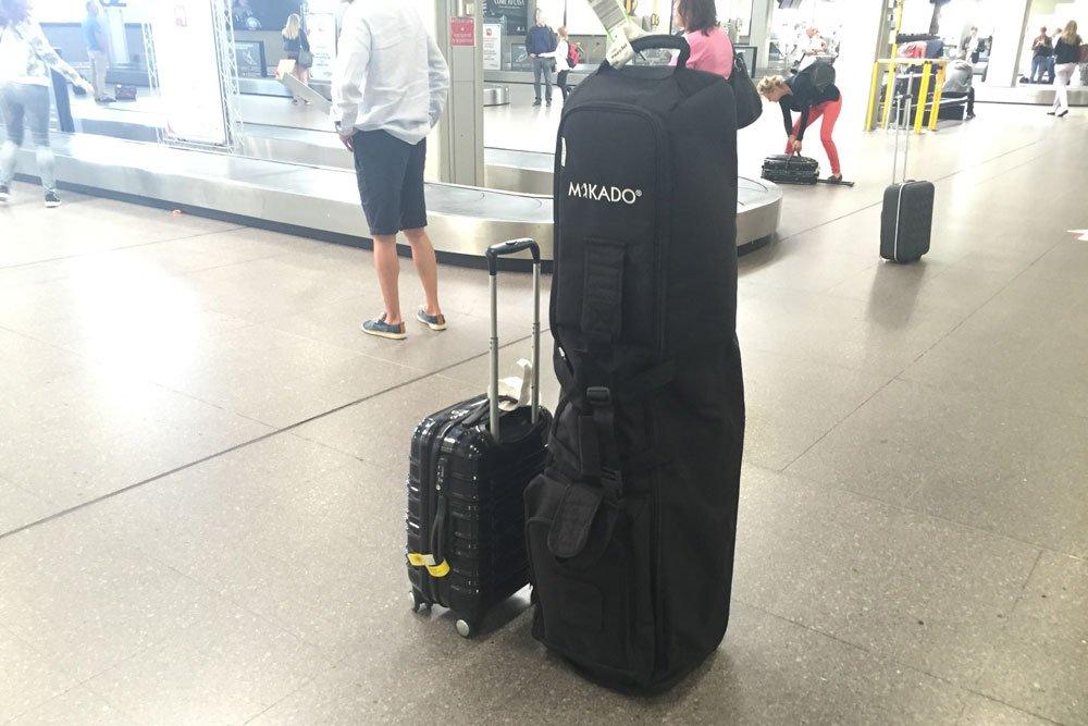 mikado travelcover flughafen - Travelcover – Die Reisetasche für das Golfbag
