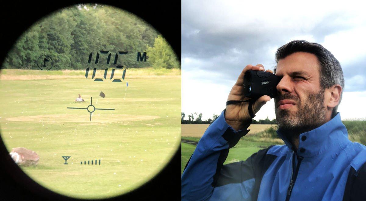 mini laser messen - Mini Golf-Rangefinder von 24-GolfChampion  im Test