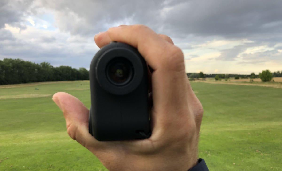 mini laser objektiv - Mini Golf-Rangefinder von 24-GolfChampion  im Test