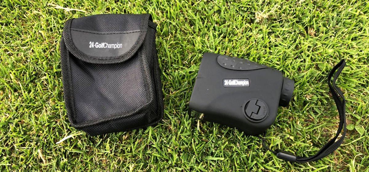 mini laser tasche - Mini Golf-Rangefinder von 24-GolfChampion  im Test