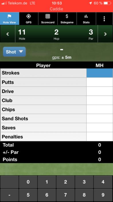 mscorecard 3 394x700 - Die besten Golf-Apps zur Rundenanalyse