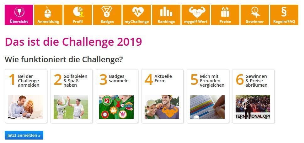 mygolf challenges - MyGolf.de – Das bietet das Service-Portal des DGV