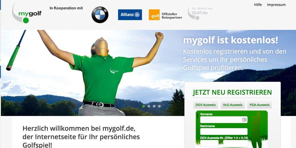 mygolf - Die 10 größten deutschen Golf-Webseiten 2017
