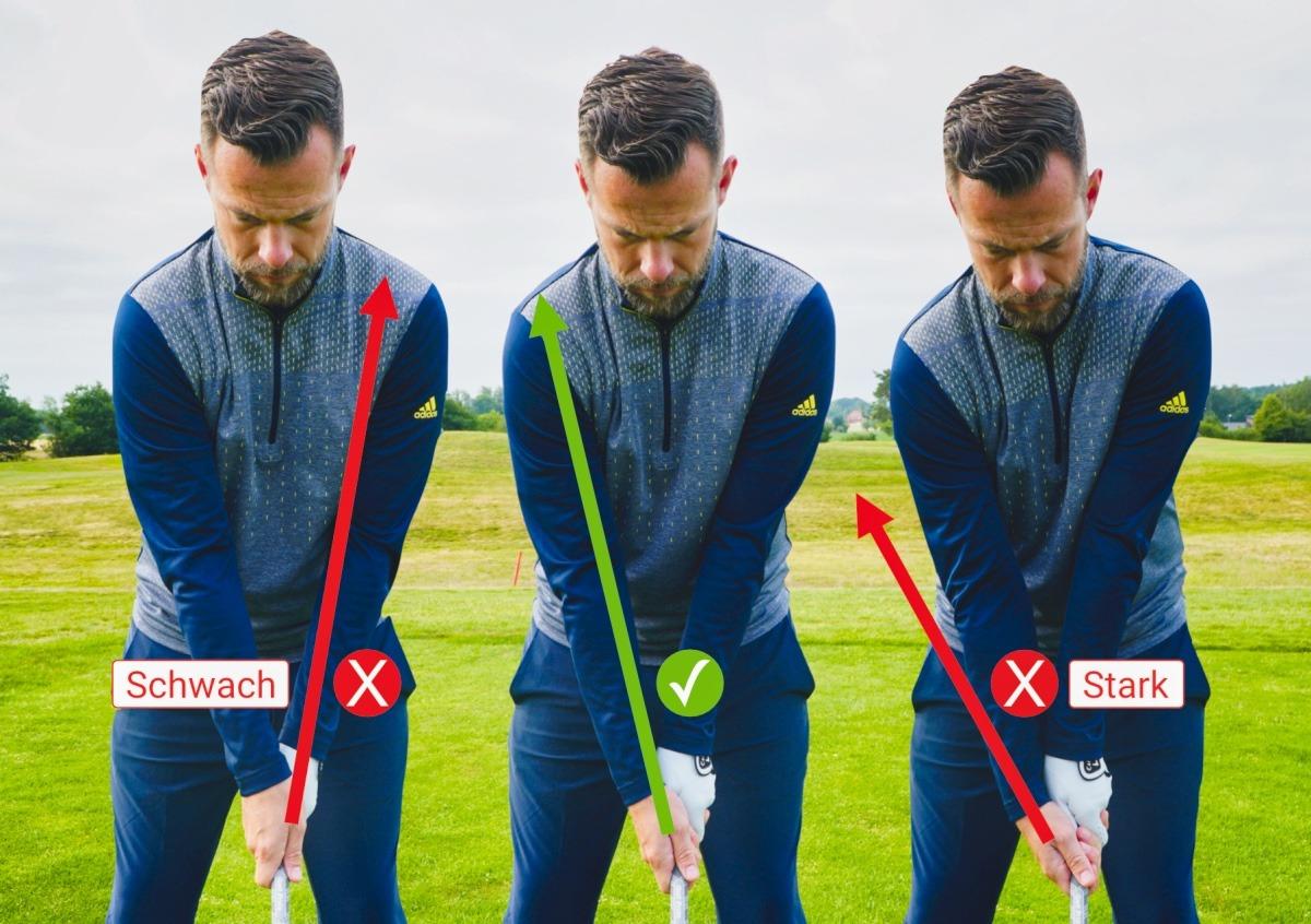 neutraler griff - Golfschwung aufnehmen, Technik verbessern (App-Tipp)
