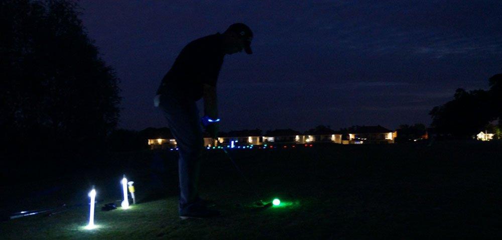 Golf-Leuchtbälle