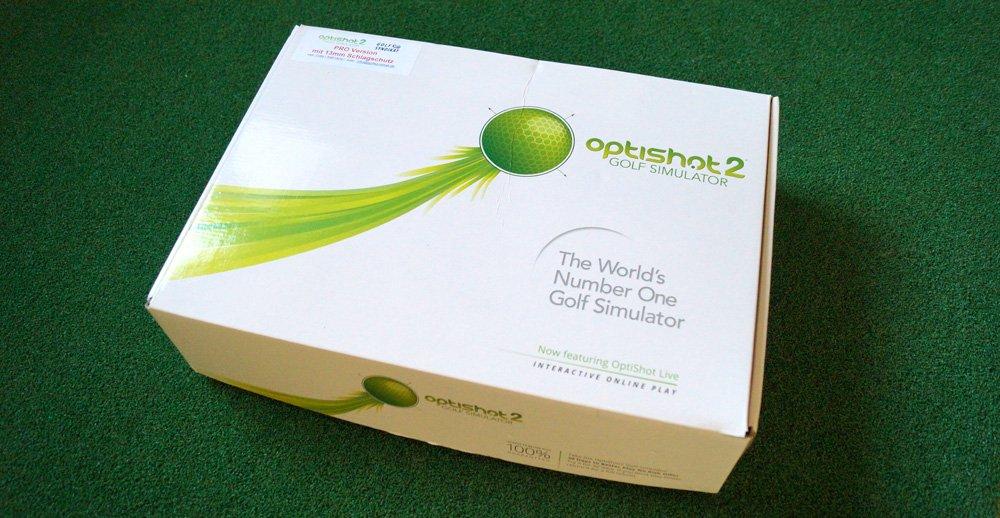optishot2 verpackung - Optishot 2 – Golfsimulator für zu Hause