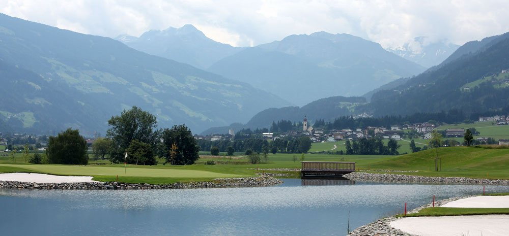panorama zillertal - Der Alpengolfer - Golfen in den Alpen