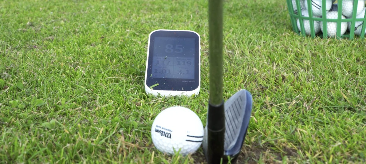 position g80 - Garmin Approach G80 – Golf-GPS und Launch-Monitor im Test