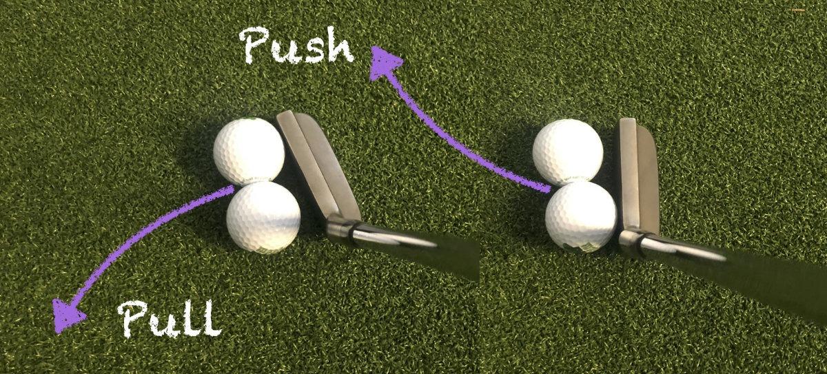 push pull putten - Magnetische Golfbälle zur Richtungskontrolle – MasterPUTT