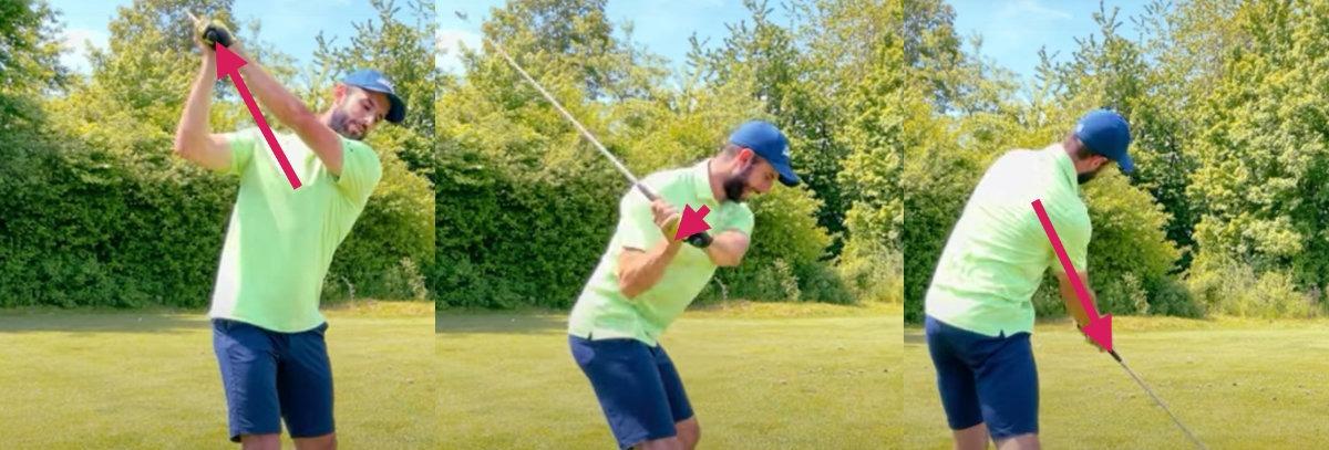 radius golfschwung - Diese 3 Schwungfehler kosten zwischen 25 bis 50 Meter Schlagweite