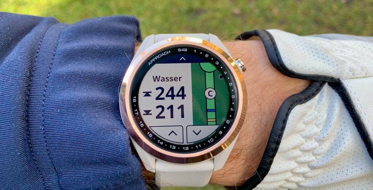 s42 wasser - Garmin Approach S42 – Golfuhr im Test