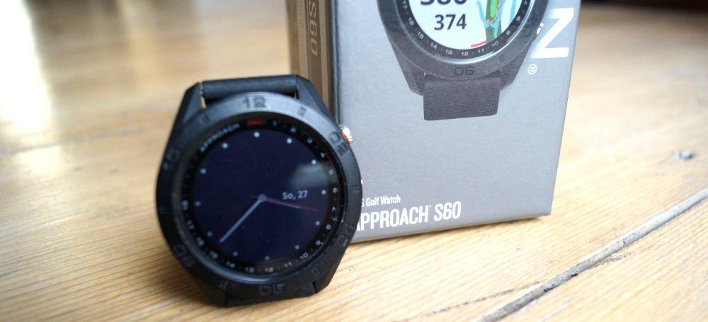 s60 verpackung - Garmin Approach S60 – Mehr als eine Golfuhr