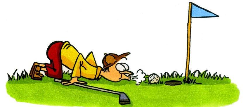 Pustender Golfer