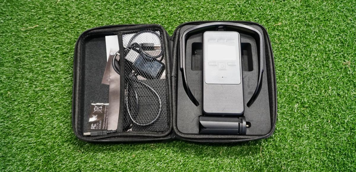 SensuGlasses mit Box, Ladegerät und Zubehör