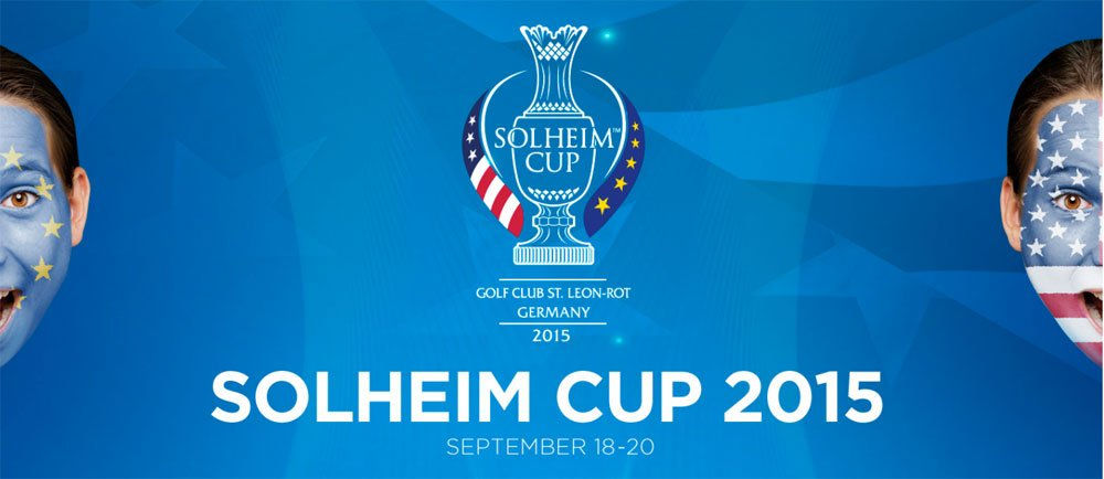 Logo des Solheim Cup 2015