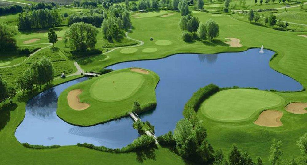 Golfplatz in St. Leon-Rot