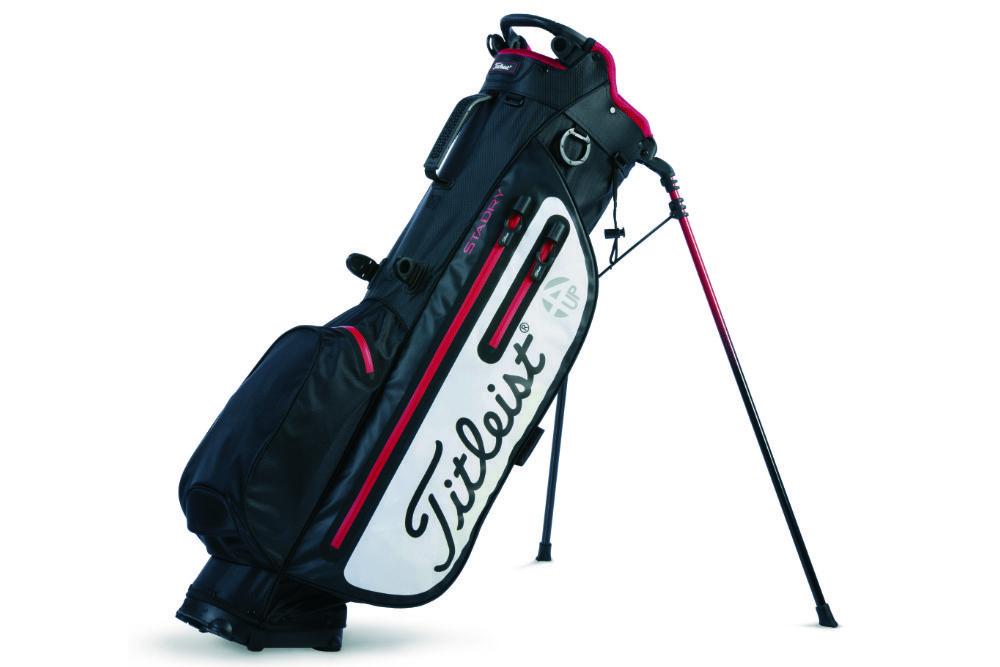 titleist 4up - Die leichtesten Golfbags mit Stand-Beinen