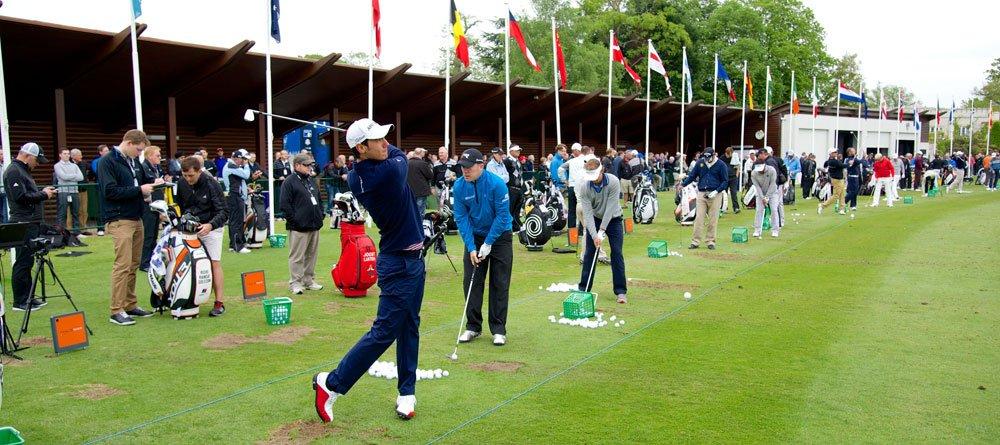 TrackMan bei den PGA Championships in Wentworth