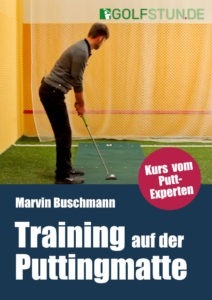Training auf der Puttingmatte (Online-Golfkurs)