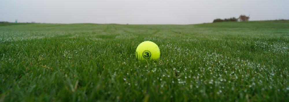 vision neongelb - Bunte Golfbälle für den Winter