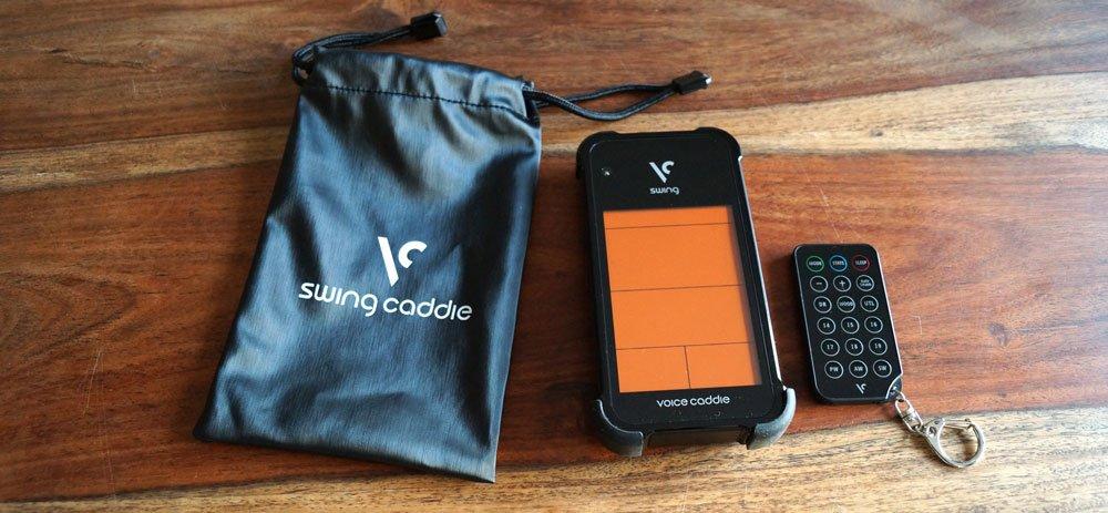 voice caddie lieferumfang1 - Swing Caddie - Launch-Monitor für Amateur-Golfer