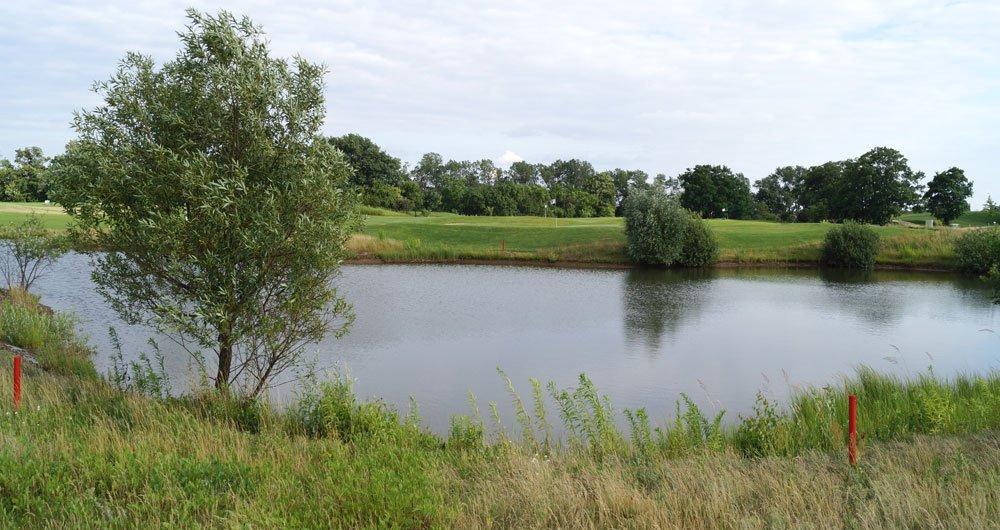 wasserhindernis golfplatz - Wasserhindernis